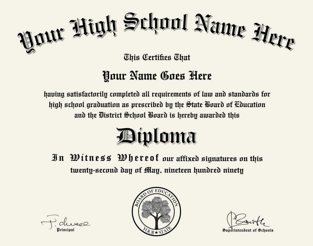 high school diploma design 1 for any school diploma press