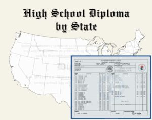 Fake High School Diploma by State and Transcripts