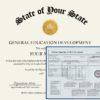 Fake GED Diploma and Transcripts