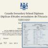 Fake Secondary Diploma Canada and Transcripts